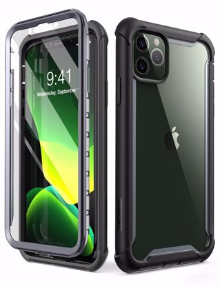 Picture of i-Blason i-Blason Ares Full Body Case with Screen Protector for iPhone 11 Pro Max in Black