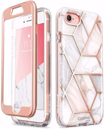 Picture of i-Blason i-Blason Cosmo Case with Screen Protector for Apple iPhone SE (2020)/8/7 in Marble