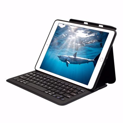 Picture of Mako MAKO GOTYPE Qwertz Rugged Keyboard Case for Apple iPad 10.2 (2019) & (2020) in Black