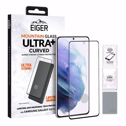 Picture of Eiger Eiger GLASS Mountain ULTRA+ Super Strong Screen Protector for Samsung Galaxy S21+