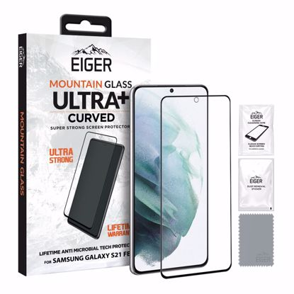Picture of Eiger Eiger GLASS Mountain ULTRA+ Super Strong Screen Protector for Samsung Galaxy S21 FE